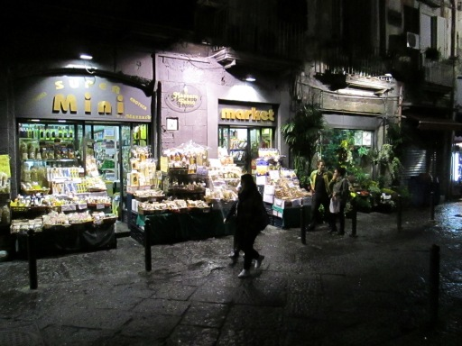 Via Tribunali by night