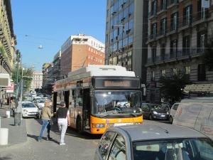 Neapolitan trolleybus