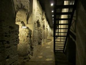 Subterranean Roman shops