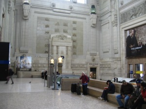 The monumental Milano Centrale station