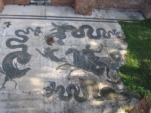 Mosaic at Ostia Antica
