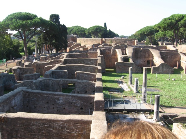 Even this doesn't do justice to the scale of the Ostia site