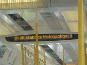 Traversing Metroland