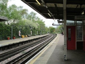 The Metropolitan and Piccadilly Lines at Ickenham