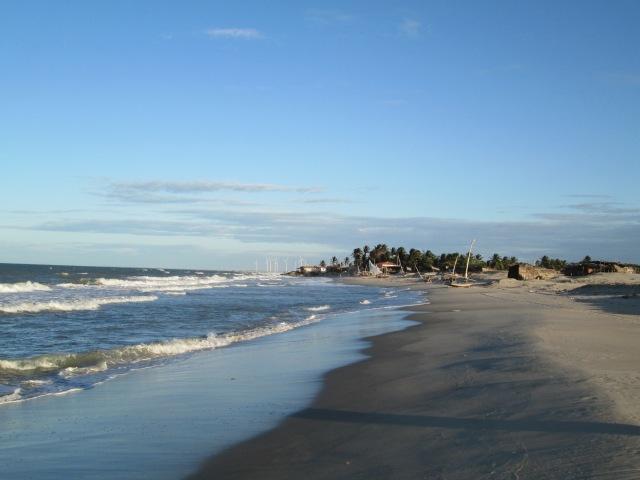 general view of Prainha do Canto Verde and sea