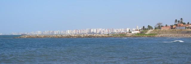 Fortaleza from Pirambú