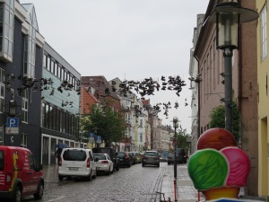 A wet day in Flensburg