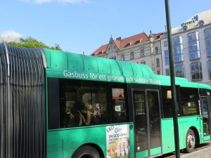 """(Bio)Gas bus for a greener and more beautiful Malmo"""