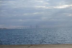 The Oresund Bridge from Malmö