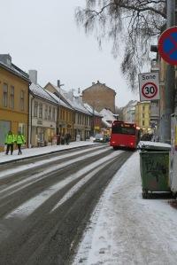 Snowy Oslo