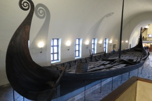 Viking ship.