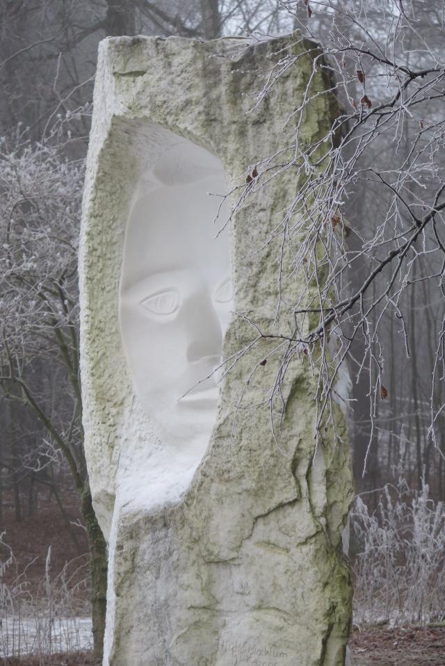 Statue by Hilde Moehlum, Ekeberg Park