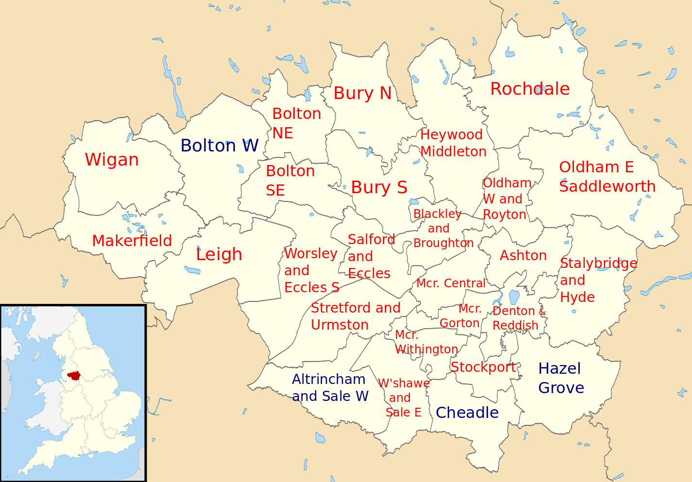 The General Election in Greater Manchester: what do the results mean ...