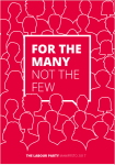 Labour manifesto cover